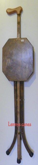 Walnut Colored Birch Seat Cane 106 Main