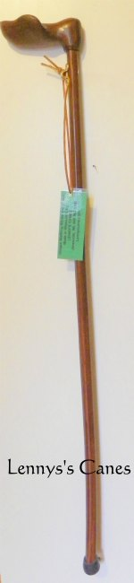 Specially carved  palm grip handle with  Merbru  Cane 102 Main