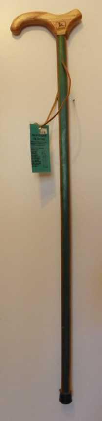 Laminated green and gold John Deere Cane 160 Main