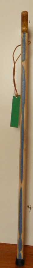 Maple and colored Birch SuperMan Cane 183 Secondary Image