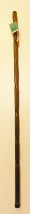 Walnut colored Fir walking stick 223 Main
